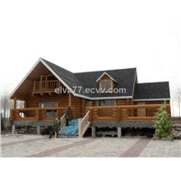 Spruce Wooden House