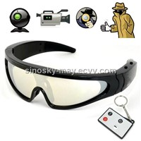 HD Waterproof Eyewear Sunglasses Camera with Remote Control