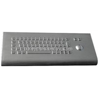 IP65 Industrial Stainless Steel Desktop Keyboard with Trackball (X-BP66D)