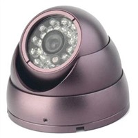 IR dome cameras  purple shell