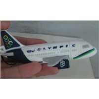 Keychain Plane Shaped USB Drive