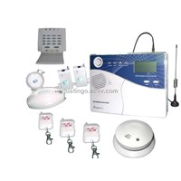 LCD Display Voiced GSM Burglarproof Alarm System