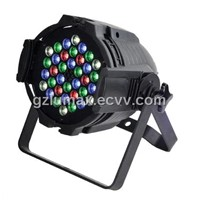 LED Par 64 36*3W RGB High Bright Color mixing stage par can /even/wedding effect lighting fixture