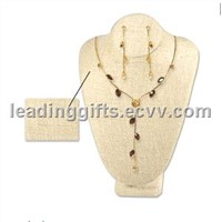 Linen Neck Form Display (#LNNB-002)