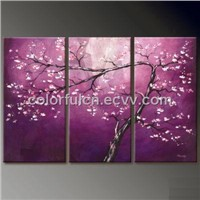 Landscape Tree Art Oil Painting
