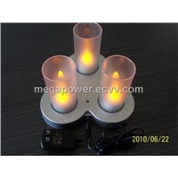 MP03 Rechargeable LED Candlelight