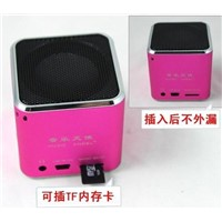 Mini Portable USB SD TF Card Speaker For MP3/MP4 Player