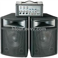 PA comb speaker system