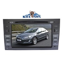 PEUGEOT 408 Car DVD GPS Player with 7-Inch Touch Screen/RDS/BT(A2DP)/GPS