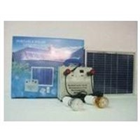 Portalbe solar lighting system with charger SDXT-808-10W