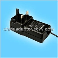 Power Adaptor UK Plug-24W