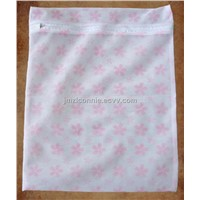 Printed Mesh Laundry Bag