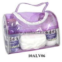 Pvc Bag Bath Set