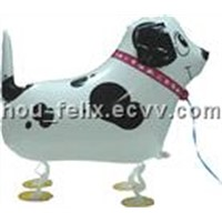 Shape Walking pet mylar balloon(Self Sealing Balloon, Requires Helium Inflation)