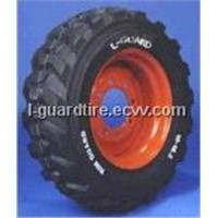 "Skid-Steer Tyre with ""Rimguard"""