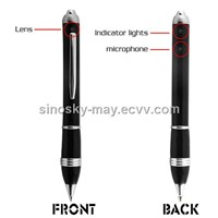 Spy pen with hidden HD Camera +Photo Capture +Motion Detection
