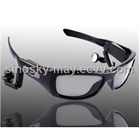 Sunglasses Camera with Detachable Earphone + MP3 Player