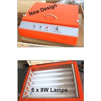 T LT-280S mini orange UV polymer plate exposure machine