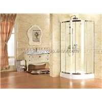 Tempered glass shower room