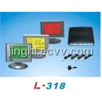 Three Color Screen LCD Parking Sensor