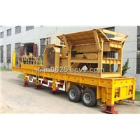 Tire Mobile Crushing & Screening Plant