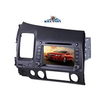 Two -Din Honda Civic  Car DVD Player with 7-Inch Touch Screen/Radio(RDS)/BT/GPS