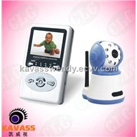 Two-Way/audio and video Digital Wireless Baby Monitor