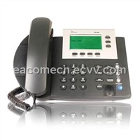 VoIP Phone with 100 to 240V Power Adapter, Supports SIP Protocol and Automatic Provision