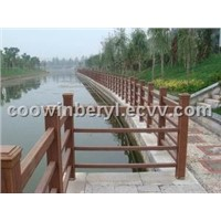 WPC Outdoor Handrail and Post