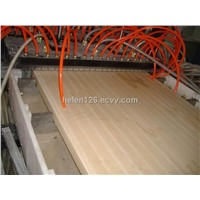 WPC Door Board Profile Machine