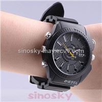 Waterproof 1080p Digital Night Vision Watch Camera