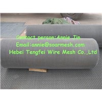 Weave crimped wire mesh
