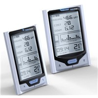 Wireless Home Electricity Energy Monitors with Solar Power Monitoring Function
