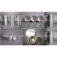 Aluminum Can with medical or nutrional product use
