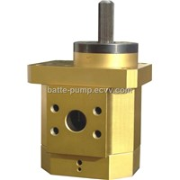 Batte Extrusion Melt Pump