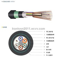 Burial Communication Fiber Optic Cable (GYTA-53)