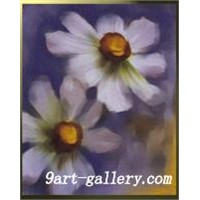 canvas art Flower oil painting