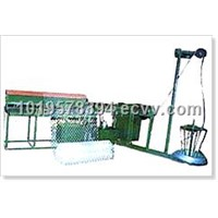 China Semi Automatic Chain Link Fence Machine Manufactuer