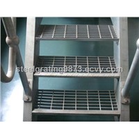composite steel stair treads,steel staircase, step ladder,grating steps