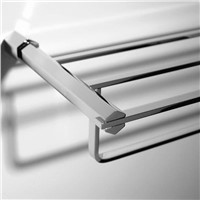 double bath towel rack