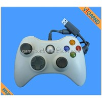 for Xbox360 Game Controller with 1.8m Cable and Many Colors White, Black, Red, Blue and Pink