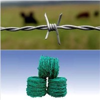 galvanized barbed wire mesh