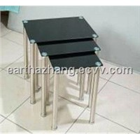 glass coffee table/nesting table/end table xyct-216