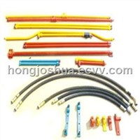 hydraulic breaker/hammer pipe line/hydraulic kits for excavators