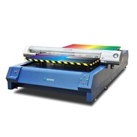 leater shoes flatbed printer