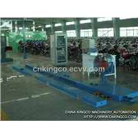 motorcycle testing line / test system / testing equipment