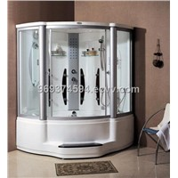 steam shower room/steam shower cabin with massage bathtub(EA-8202)