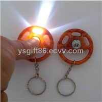 Steering Wheel Torch Keyring for Car Gift