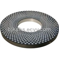 Vitrified Bond Double Disc CBN Grinding Wheel Diameter:1000mm