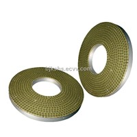 Vitrified Bond Double Disc CBN Grinding Wheel Diameter:380mm